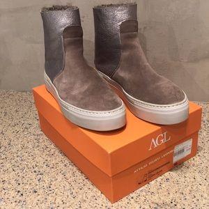 AGL fur lined sneaker